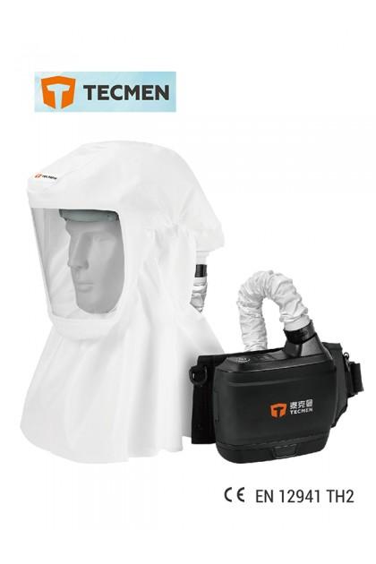 TECMEN TM-H HOOD WITH POWER AIR PURIFYING RESPIRATOR (PAPR)